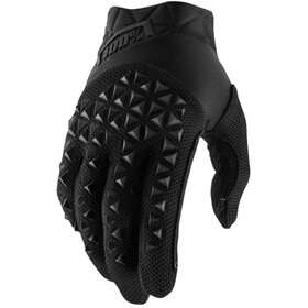 100% Airmatic Guantes, black/charcoal